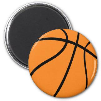 icono del baloncesto imán redondo 5 cm