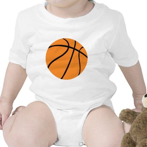 icono del baloncesto trajes de bebé