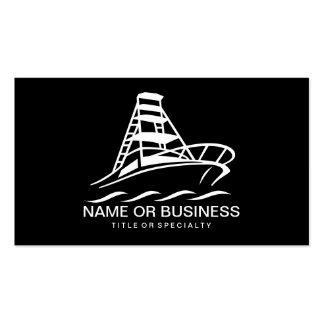 icono del barco tarjetas de visita