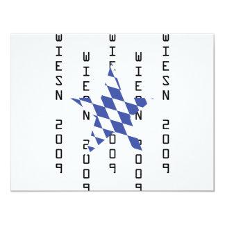 Icono del bavarian de Oktoberfest Invitaciones Personales