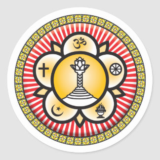 Icono del bizcocho borracho de Sai Pegatina Redonda