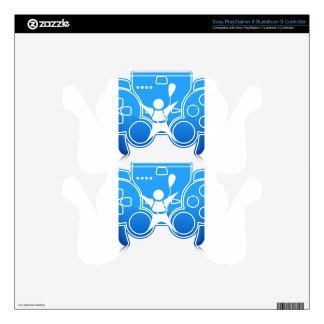 Icono del buceador del cielo calcomanía para mando PS3
