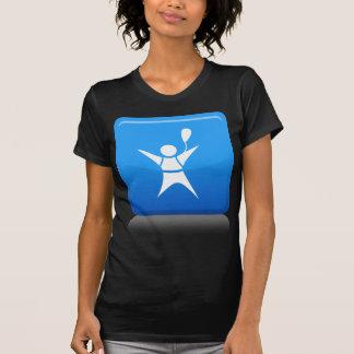 Icono del buceador del cielo camisas