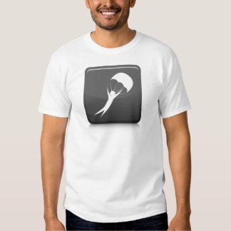 Icono del buceador del cielo remera