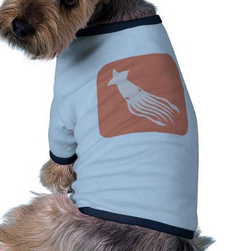 Icono del calamar gigante ropa de perros