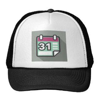Icono del calendario gorras