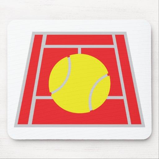 icono del campo de tenis tapete de raton