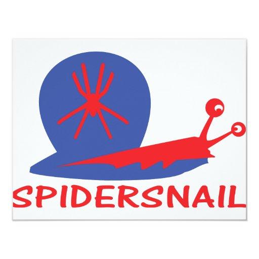 icono del caracol de la araña comunicado