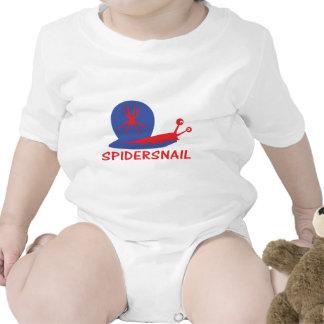 icono del caracol de la araña traje de bebé