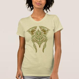 Icono del casco de las armas de Elven Camisetas