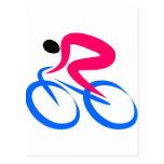 Icono del ciclista postal