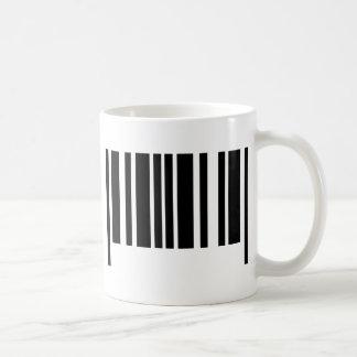 icono del código de barras taza de café