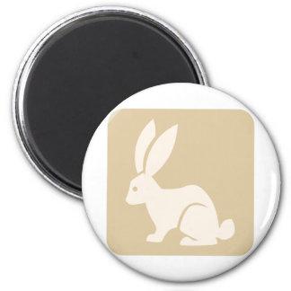 Icono del conejo de Jack Imanes De Nevera
