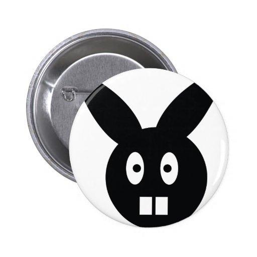 icono del conejo pin
