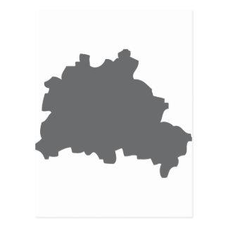 Icono del contorno de Berlín Postales
