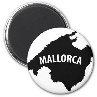 icono del contorno de Mallorca España Imanes De Nevera