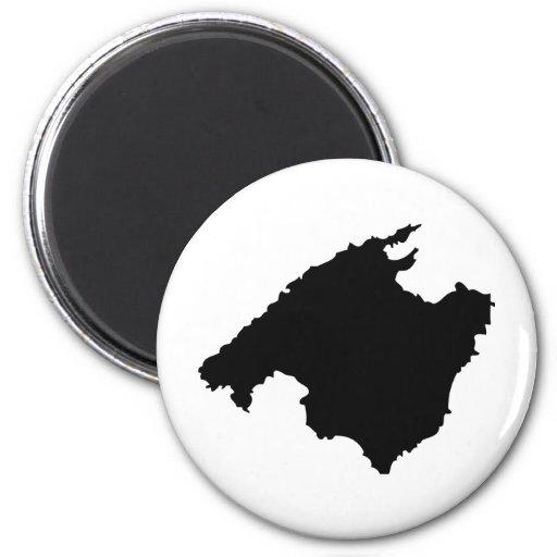 icono del contorno de Mallorca Iman De Frigorífico