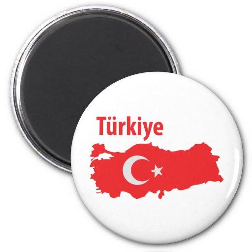 Icono del contorno de Tuerkiye Imanes