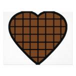icono del corazón del chocolate invitacion personalizada