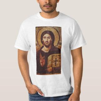 Icono del cristiano de Pantocrator del Jesucristo Playera