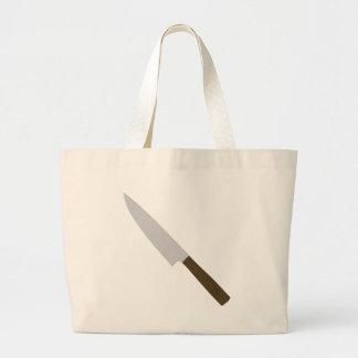icono del cuchillo de cocina de los cocineros bolsas lienzo