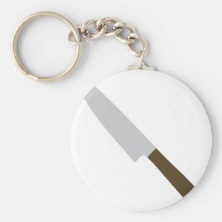 icono del cuchillo de cocina de los cocineros llavero redondo tipo pin