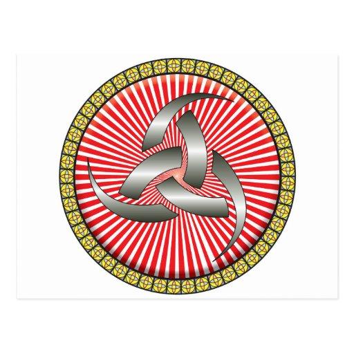 Icono del cuerno de Odin Tarjetas Postales