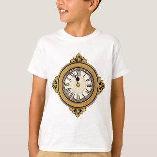 Icono del despertador del oro playera