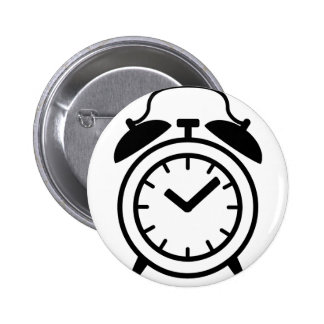 icono del despertador pin