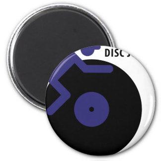 icono del disc jockey imán