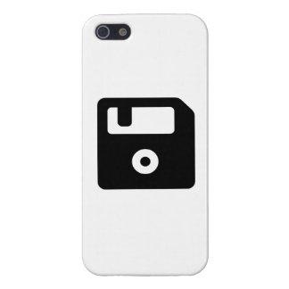 Icono del disco blando iPhone 5 fundas
