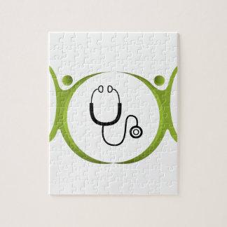 Icono del equipo médico puzzles