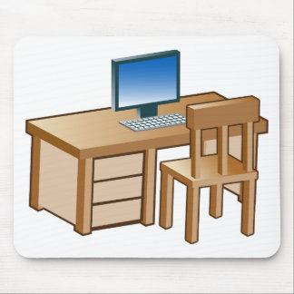 Icono del escritorio de la computadora de alfombrilla de ratón