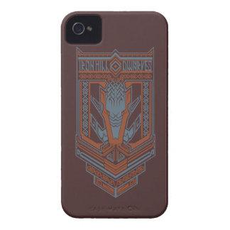 Icono del escudo de los enanos de Ironhill iPhone 4 Case-Mate Protector