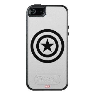 Icono del escudo funda otterbox para iPhone 5/5s/SE