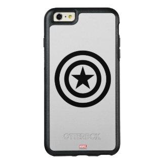 Icono del escudo funda otterbox para iPhone 6/6s plus