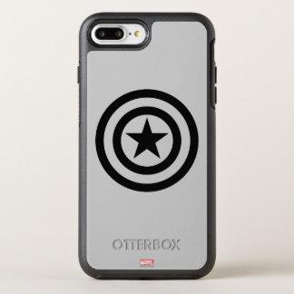 Icono del escudo funda OtterBox symmetry para iPhone 7 plus