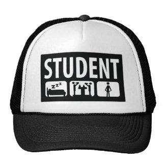 icono del estudiante gorros bordados