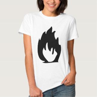 icono del fuego polera