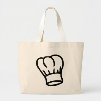 icono del gorra del cocinero del cocinero bolsas lienzo