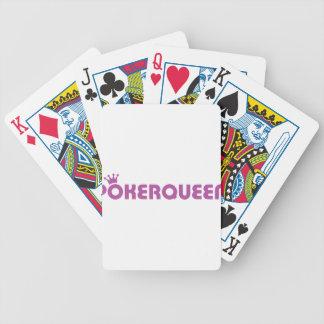 Icono del holdem de la reina Tejas del póker Baraja Cartas De Poker