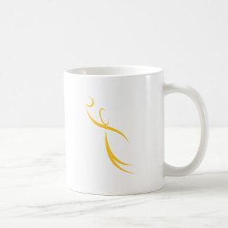 Icono del jugador de básquet taza