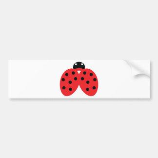 icono del ladybeetle pegatina para auto