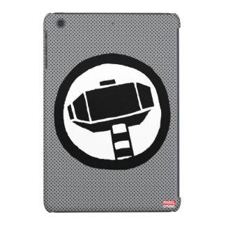 Icono del martillo del Thor del estallido Funda Para iPad Mini Retina