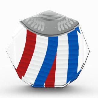Icono del medallista de plata