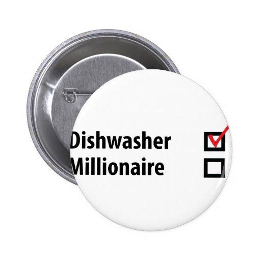 icono del millonario del lavaplatos pins