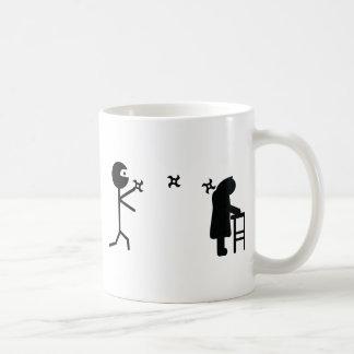 icono del ninja taza clásica
