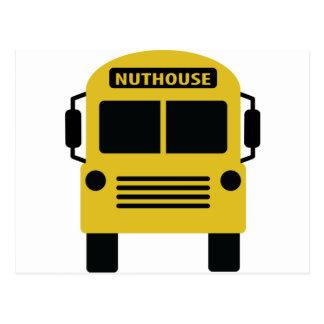 icono del nuthouse tarjeta postal