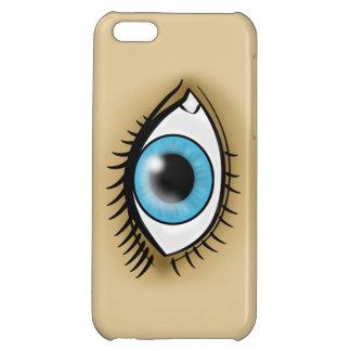 Icono del ojo azul