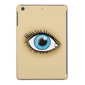 Icono del ojo azul fundas de iPad mini
